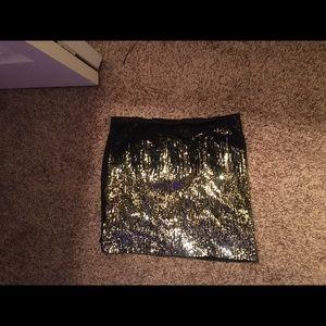 Sparkle bodycon skirt